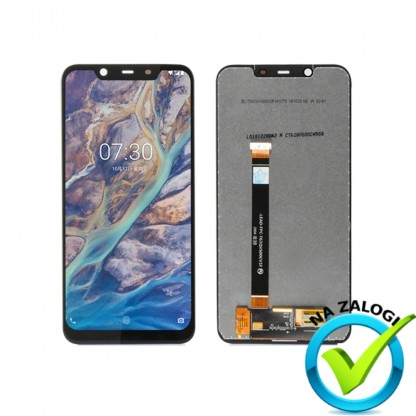 NOKIA 8.1 ekran na dotik (touch screen) + LCD zaslon  ORIGINAL